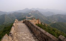 The great wall, China Stock Image