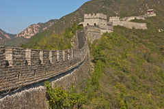 The Great Wall of China. Badaling part, close to Beijing Royalty Free Stock Images