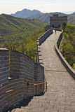 The Great Wall of China. Badaling part, close to Beijing Royalty Free Stock Photos