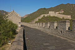 The Great Wall of China. Badaling part, close to Beijing Stock Photos
