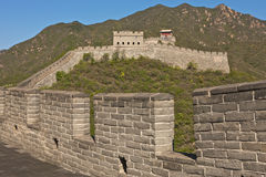 The Great Wall of China. Badaling part, close to Beijing Stock Photo