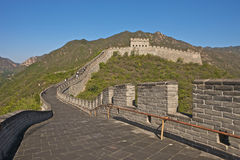 The Great Wall of China. Badaling part, close to Beijing Stock Photography