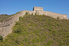 The Great Wall of China. Badaling part, close to Beijing Stock Image