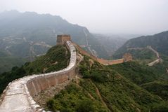 The great wall, China Royalty Free Stock Photography