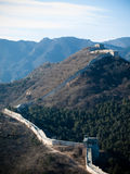 The great wall of China Stock Image