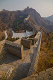Great Wall of China. At Sunny Day Royalty Free Stock Images