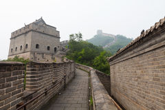 Great Wall Of China. Tourist-spot at Great Wall of China under the fog Stock Images