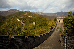 The Great Wall in China Stock Image