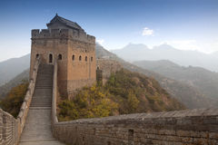 Great Wall of China. Autumn scenery of the Great Wall of China Royalty Free Stock Photography