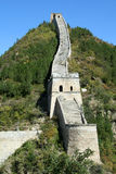 Great Wall of China. Beijing Stock Photo