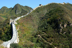 Great Wall of China. Beijing Stock Photos