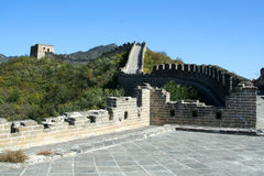 Great Wall of China. Beijing Royalty Free Stock Photos