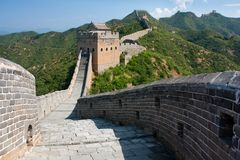 Great Wall - China Royalty Free Stock Photos