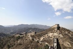 Great Wall. The Great Wall in China Stock Photography