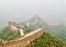 Great Wall of China. At Simatai Stock Images