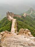 Great Wall of China. At Simatai Stock Photo