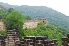 Great wall, China. A photo taken of the great wall near Beijing, in China Royalty Free Stock Photo