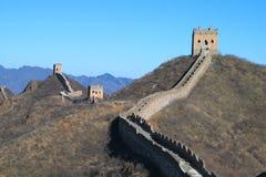 Great Wall of China. The Great Wall at Jinshanling, near Beijing Stock Images