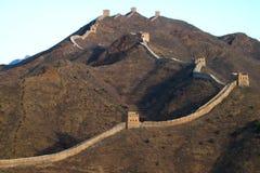 Great Wall of China. The Great Wall at Simatai, near Beijing Stock Photo