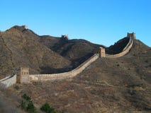 Great Wall of China. The Great Wall at Simatai, near Beijing Royalty Free Stock Photo