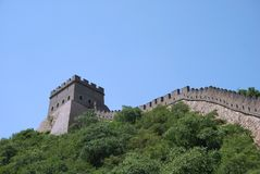 Great Wall in China Royalty Free Stock Photos