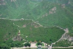 Great Wall in China Royalty Free Stock Image