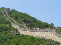 The great wall in china Stock Images