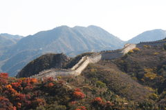 The Great Wall in china Stock Photography