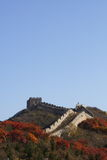 The Great Wall in china Stock Photo