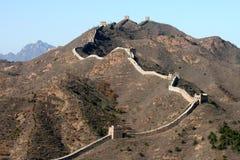The Great Wall of China. Great Wall at Simatai, near Beijing Stock Photos