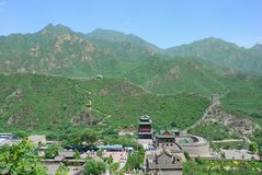 Great Wall in China Royalty Free Stock Images