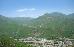 Great Wall in China Stock Photo