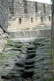 Great wall of China. The steps of the Great Wall Royalty Free Stock Photos