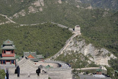 Great Wall of China. The Great Wall of China near Beijing Stock Photos