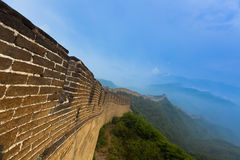 Great wall china badaling Stock Photos