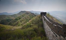 Great Wall of China. In Badaling Stock Photo