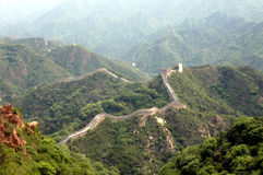 Great Wall of China Stock Image