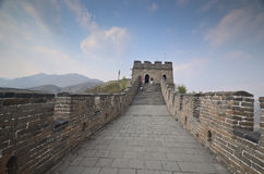 Great wall of China Stock Photo