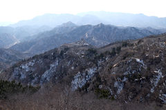 The Great Wall of China in Badaling, China.  Stock Image