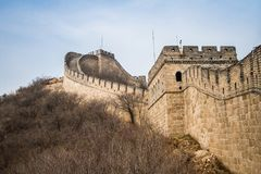 China, Great Wall of China. Great Wall of China, the Badaling section Stock Images