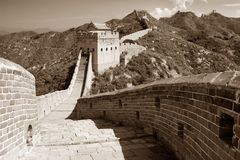 Great Wall - China Royalty Free Stock Images