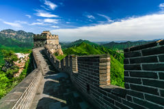 The Great Wall of China. Beijing Stock Photos