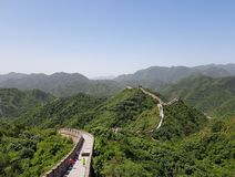 The Great Wall of China. royalty free stock photography