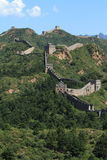 The Great Wall of China. Close to Jinshanling Royalty Free Stock Photo