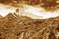 The Great Wall in China Royalty Free Stock Photos