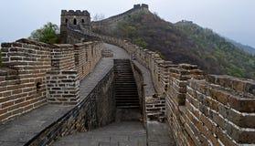 Great wall of china mutianyu. Great Wall of China section at mutianyu Royalty Free Stock Photography