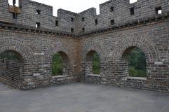 Great Wall of China. Great Wall guard tower interior Royalty Free Stock Photography