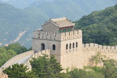 Great Wall of China Guard Tower royalty free stock photography