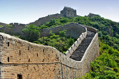 Great wall of China (HDR image) Stock Image