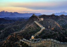 Great Wall of China. Hebei the Great Wall Jinshanling China Royalty Free Stock Photography